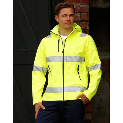 Hi-Vis Safety Jacket-Unisex