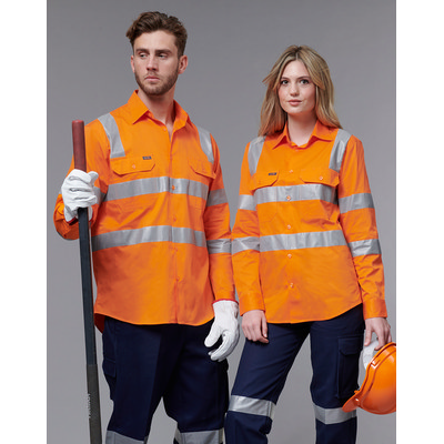 Unisex Biomotion Vic Rail Light Weight Safety Shir