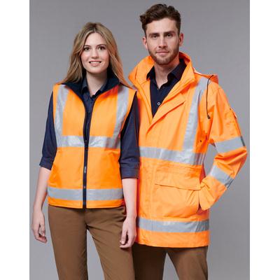 Unisex Vic Rail Three-In-One Safety Jacket