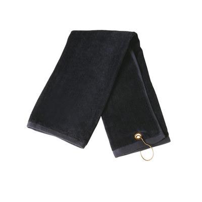 Golf Towel With Ring & Hook