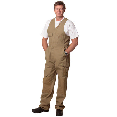 Mens Durable Action Back Overall