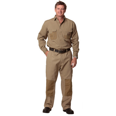 Durable Long Sleeve Work Shirt