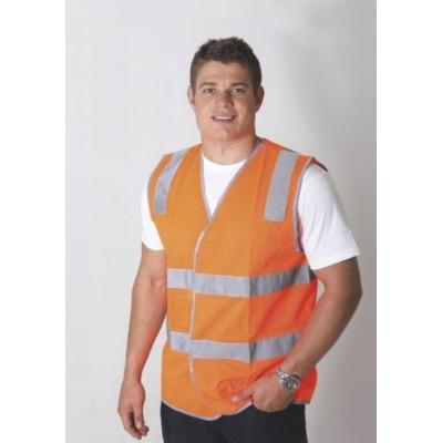 Hi Vi Vest With Reflective Tape