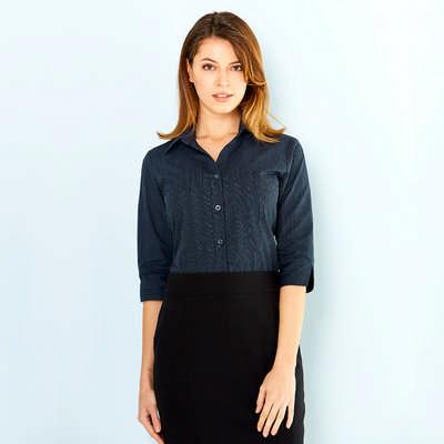 Ladies Silvertech Shirt 3/4 Sleeve