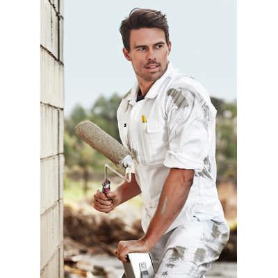 Mens Lightweight Cotton Drill Overall