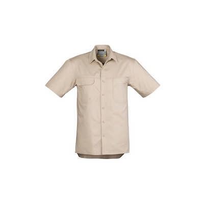 Mens Light Weight Tradie SS Shirt