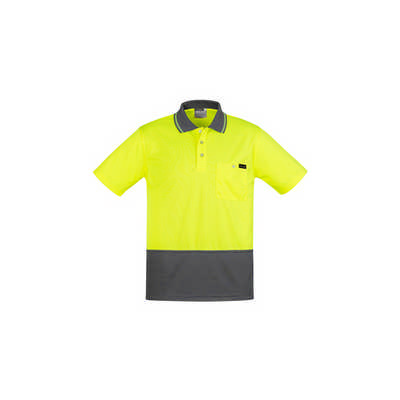 Mens Comfort Back SS Polo