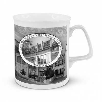 Chroma Bone China Coffee Mug