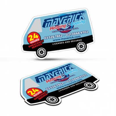 Fridge Magnet 90 x 55mm - V
