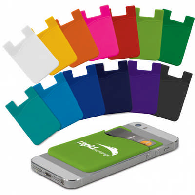 Silicone Phone Wallet - Ind