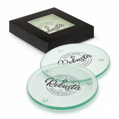 Venice Glass Coaster Set of