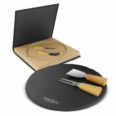 Ashford Slate Cheese Board Set