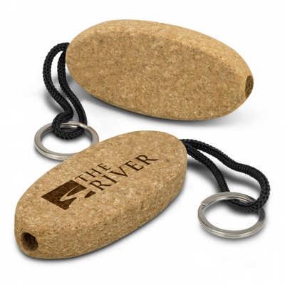 Cork Floating Key Ring