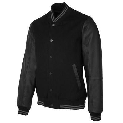 JBs Art Leather Baseball Jacket
