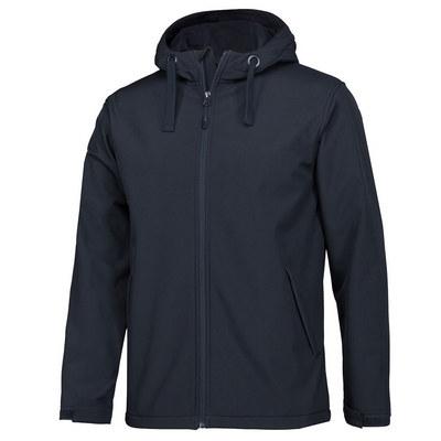 Pdm Kids Water Resistant Hooded Softshell Jacket