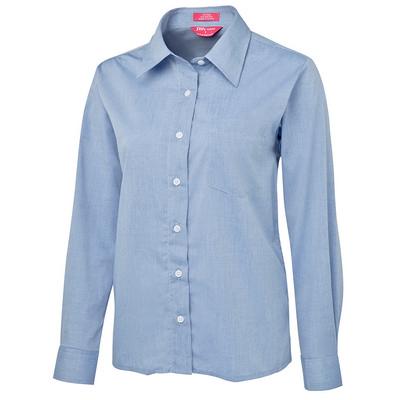 JBs Ladies Original LS Fine Chambray Shirt