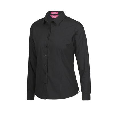 JBs Ladies LS Classic Poplin Shirt