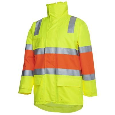 JBs Hv Longline LimeOrange Biomotion (D+N) Jacket