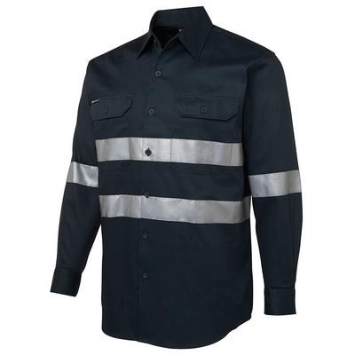 JBs LS 190G Work Shirt With Reflective Tape