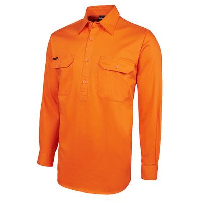 JBs Hv Close Front LS 190G Shirt