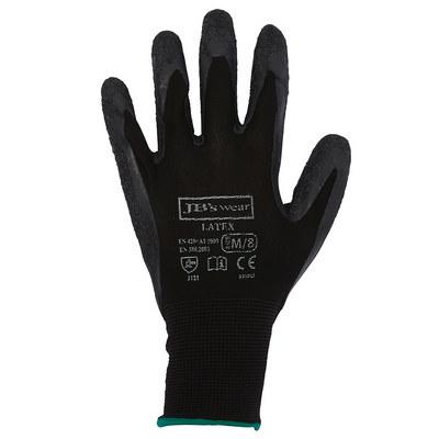 JBs Black Latex Glove (12 Pk)