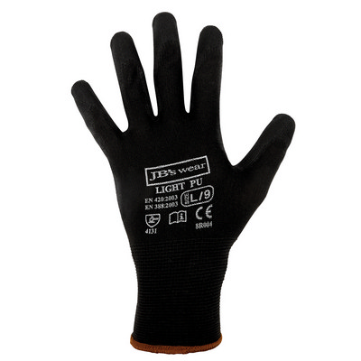 JBs Black Light Pu Breathable Glove (12 Pk)