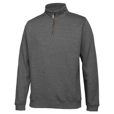 C Of C 12 Brass Zip Sweat