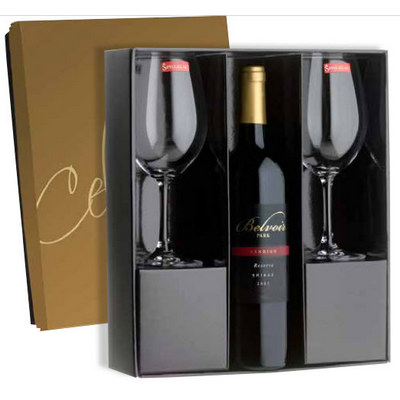 Wine & Glass Gift Box